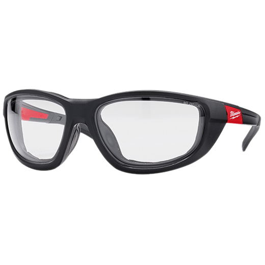 Clear Performance Safety Glasses with Gasket
