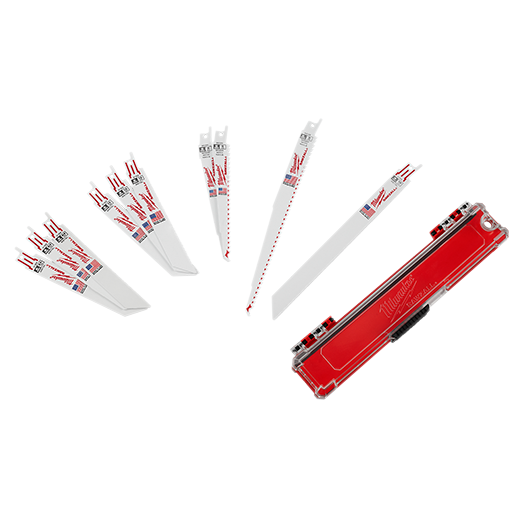SAWZALL® Standard Metal and Wood Blade Set - 10PC